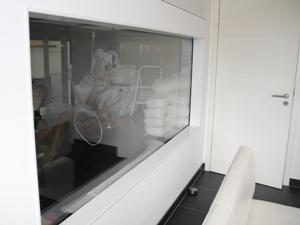 Fensterrahmen Küchenseite