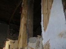 Dachboden ohne Wände
