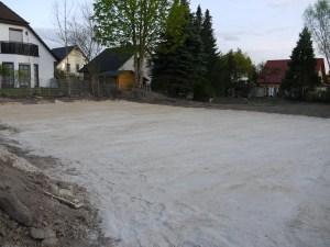 Fläche der Bodenplatte