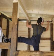Akrobatik für die oberste Bretterreihe