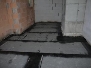 Boden im Arbeitszimmer
