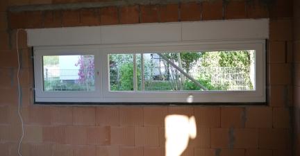Küchenfenster mit Ausblick