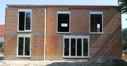 Haus ohne Gerüst - Rückseite
