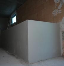 Innenputz Treppenbrüstung
