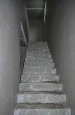Treppenaufgang verputzt