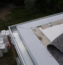 Dach decken - Schichten im Detail