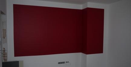 zweite rote Wand im SZ