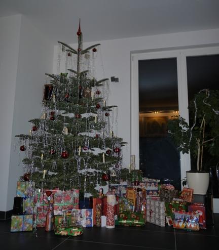 Unser erster Weihnachtsbaum
