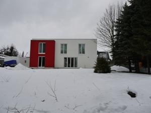 schickes Haus am Neujahrstag