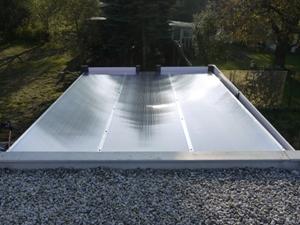 Dach gedeckt