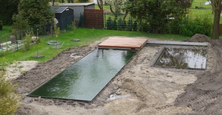 Naturpool fertig