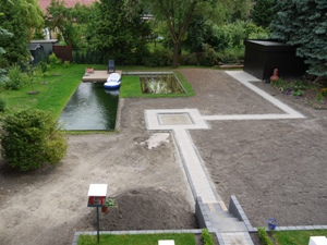 Überblick über den Garten