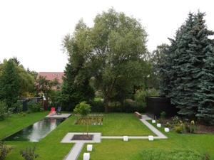 Unser Garten - noch mit Weide