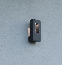 zweite Außenlampe
