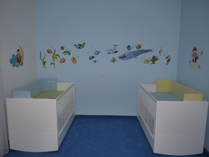 """Betten und """"Aquarium"""""""
