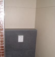 WC-Ecke fertig