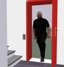 Eingang virtuell