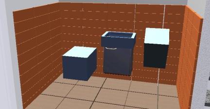 Fliesenplanung WC EG